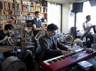 Father Figure performs a Tiny Desk Concert on February 6, 2013.