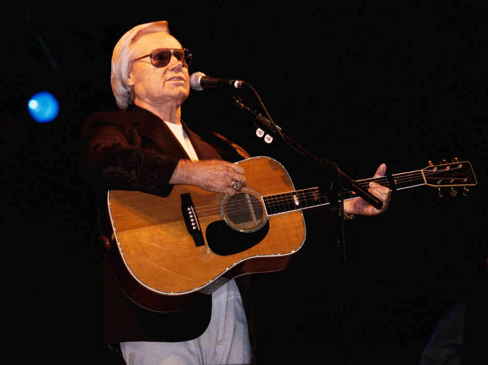 George Jones in 2000.