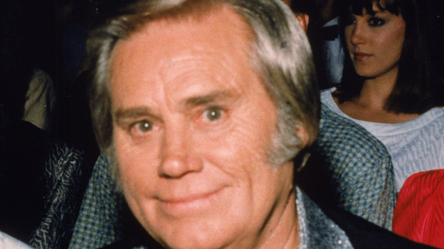 George Jones in the late 1980s. (Getty Images)