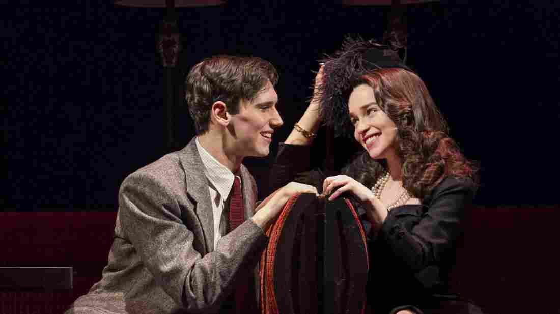 Fred (Cory Michael Smith) and Holly (Emilia Clarke) in a scene from the recent Broadway adaptation of Truman Capote's Breakfast at Tiffany's. The show, which received a slew of negative reviews, closed after only 38 performances.
