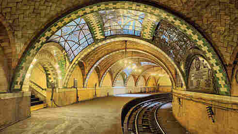 The elaborately tiled City Hall subway station in New York City — still extant but now closed to the public, alas — used the Guastavino touch to convince wary city dwellers to head underground for a train trip.