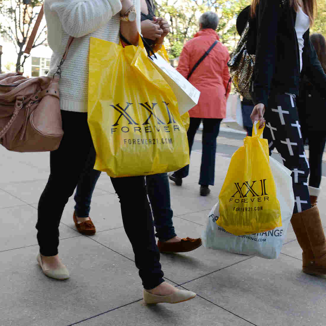 Shoppers came out in the first quarter, pushing up economic growth.