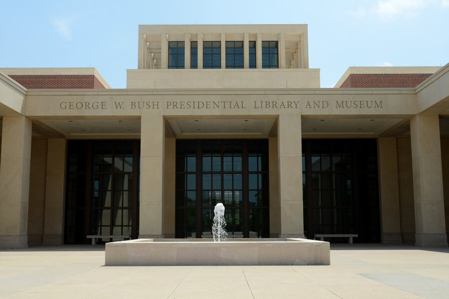 At Bush Library A Chance To Be The DeciderInChief NPR