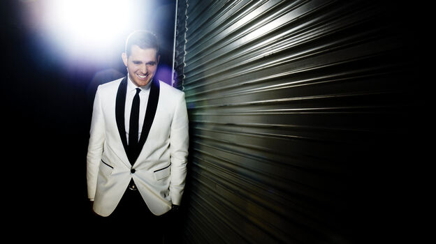 Michael Bublé's latest studio album, his eighth, is called To Be Loved. (Courtesy of the artist)