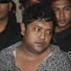 Sohel Rana, the fugitive owner of an illegally constructed building that collapsed last week in Bangladesh, killing some 377 people, is paraded by Rapid Action Battalion commandoes for the media in Dhaka, Bangladesh, on Sunday.