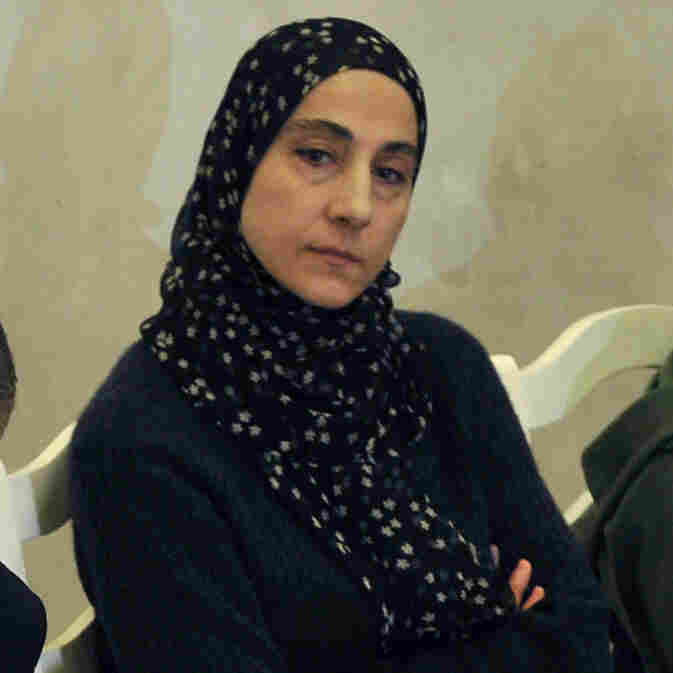 Zubeidat Tsarnaeva, center, mother of Boston Marathon bombing suspects Tamerlan and Dzhokhar, reportedly spoke of radical ideas with her eldest son in 2011. Anzor Tsarnaeva, the boys' father, is on the left. At right is the boys' aunt, Patimat Suleymanova.