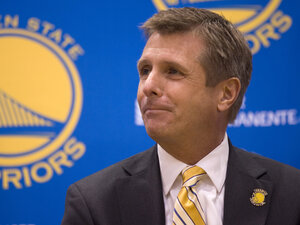Rick Welts, the president and chief operating officer of the