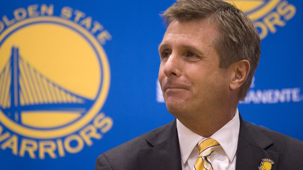 Rick Welts, the president and chief operating officer of the Golden State Warriors, recounted how Jason Collins' announcement helped him avoid a traffic ticket. (MCT /Landov)
