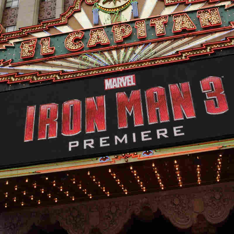 The world premiere of Iron Man 3 happened in Los Angeles last week, but it's making its money overseas at the moment.