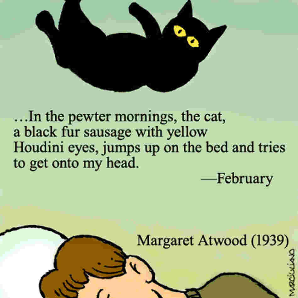 Margaret Atwood, from