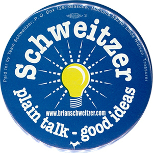Schweitzer ran for the Senate once before, losing to Conrad Burns (R) in 2000.
