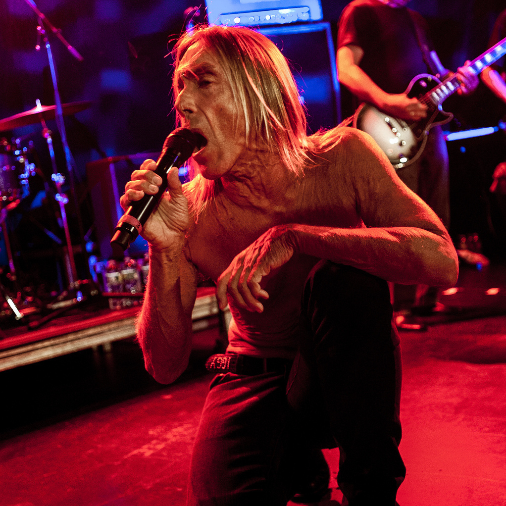 Iggy & The Stooges live at (Le) Poisson Rouge