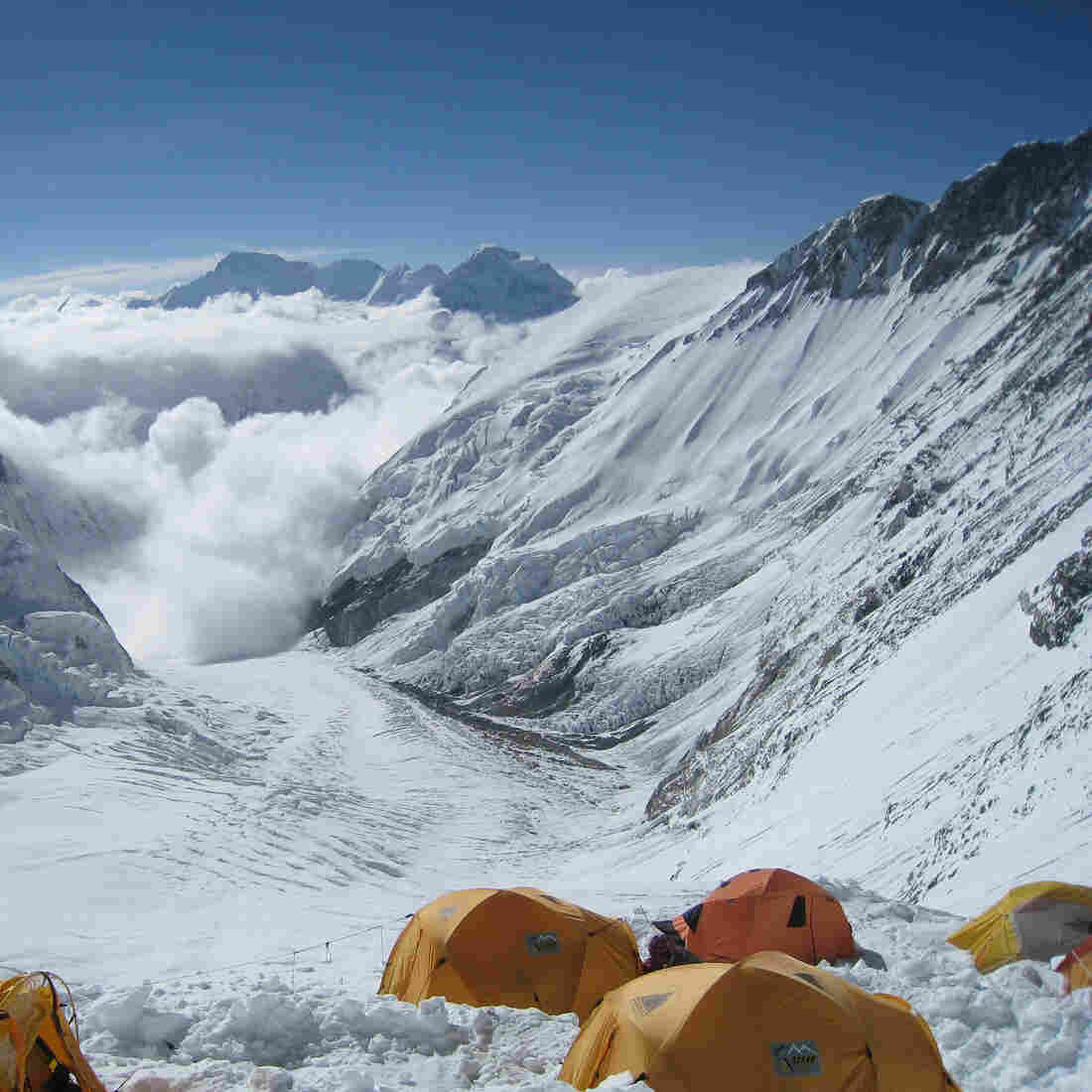 High On Mount Everest, Climbers Clash With Sherpas