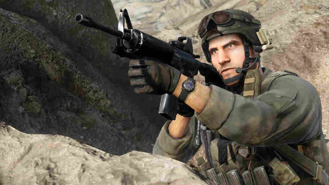 Medal of Honor's authentic action is a selling point for its publisher, Electronic Arts.