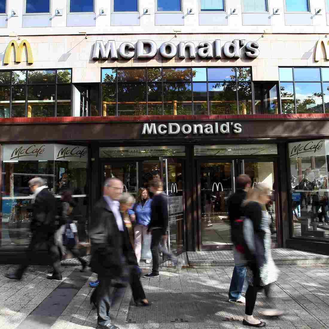 Mon Dieu! Fast Food Now Rules In France