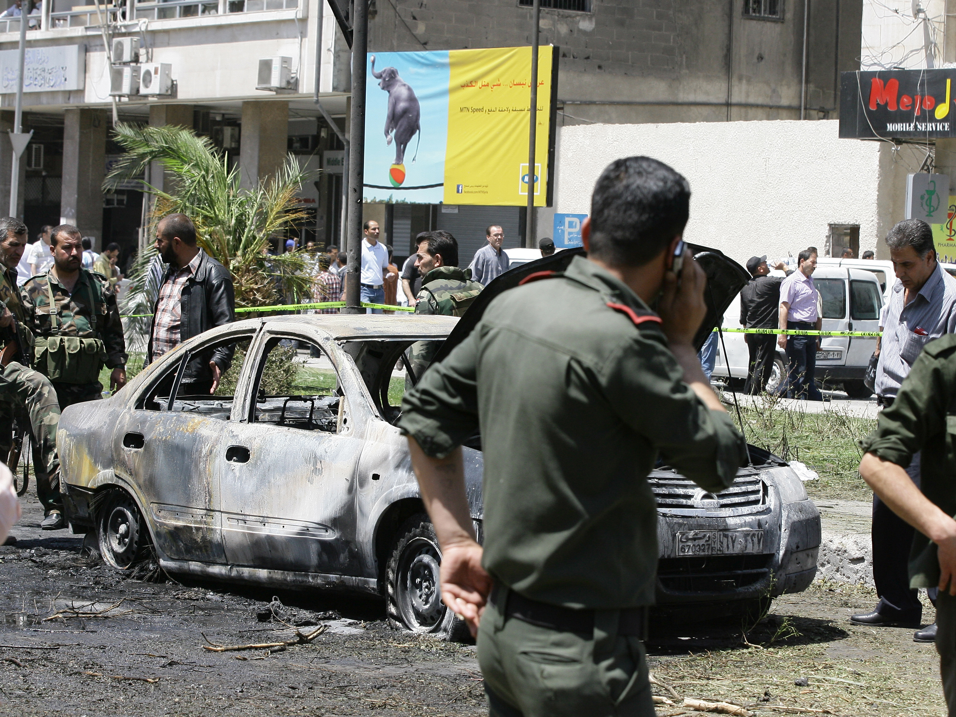 Bombing In Syrian Capital Kills More Than A Dozen People