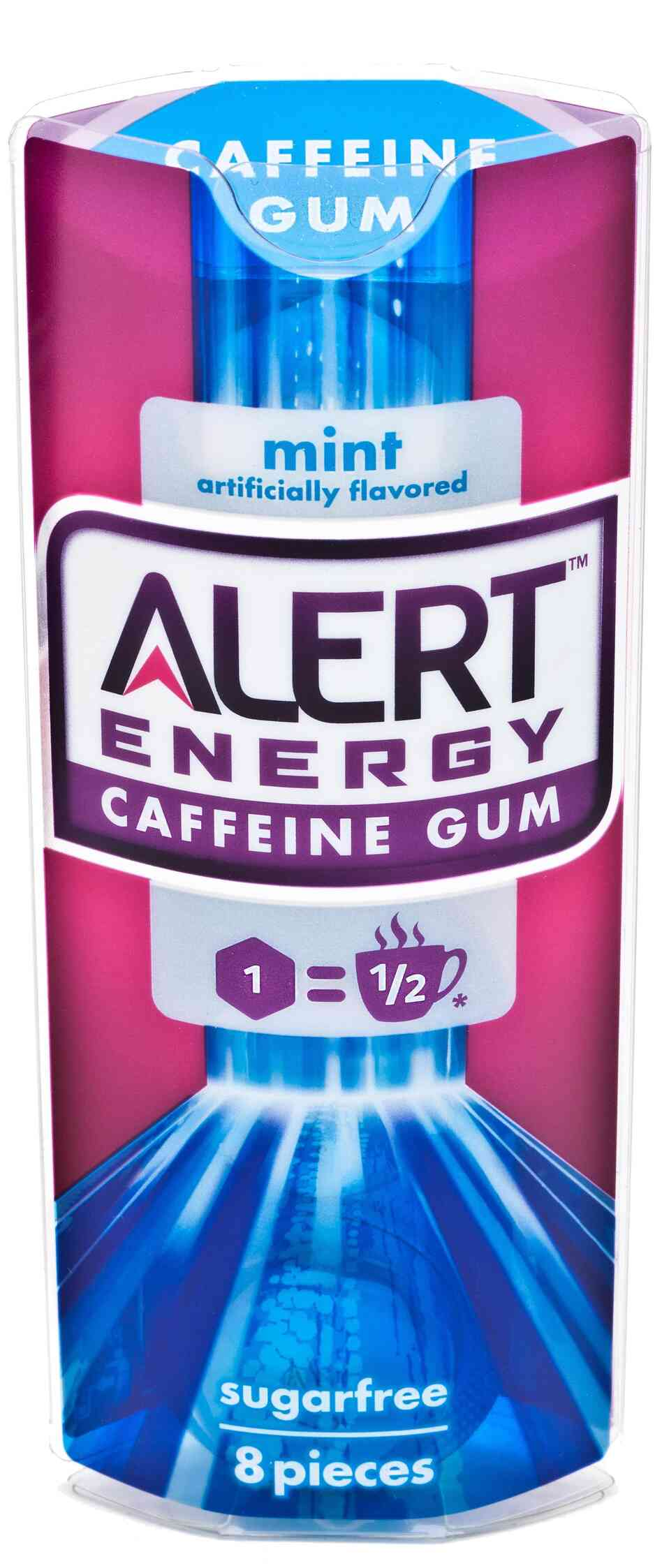 Wrigley says its new Alert Energy Caffeine Gum gives consumers the power to control how much caffeine they get.