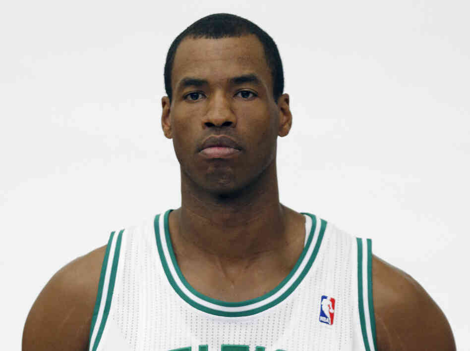 Jason Collins, a veteran NBA center, has become the first male professional athlete in the four major American sports leagues to come out as gay. Collins wrote a first-person account posted Monday on Sports Illustrated's website. He finished this past season with the Washington Wizards and is now a free agent.