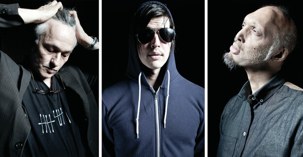 Ceramic Dog is Marc Ribot, Ches Smith and Shahzad Ismaily.