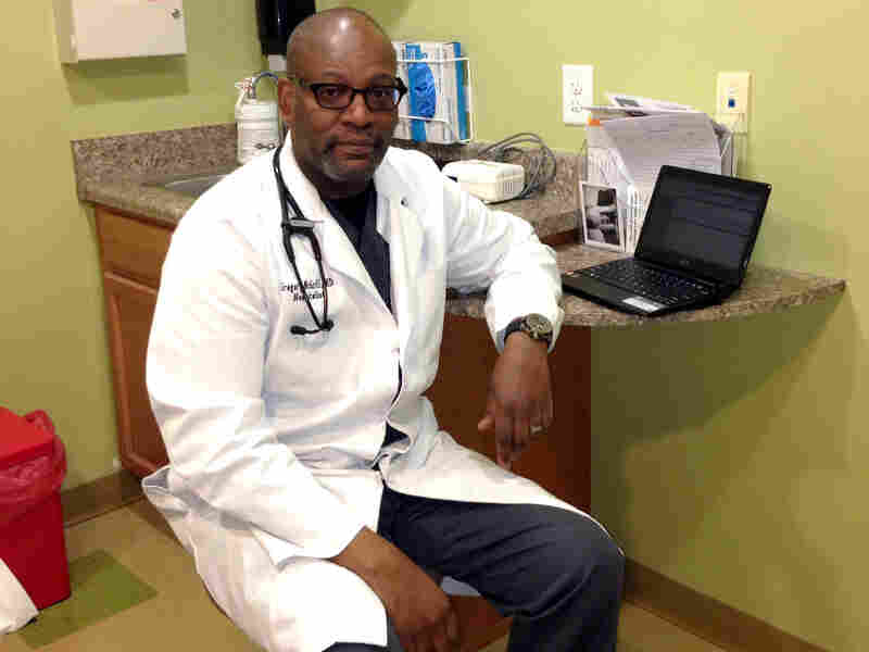 Dr. Gregory McGriff, who serves a predominantly white community, says he finds he has to communicate a bit more than his white colleagues to earn his patients' trust.