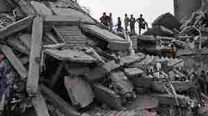Bangladesh Rescuers Give Up On Finding Survivors Of Collapse