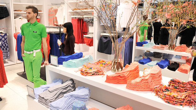 The Joe Fresh store in New York City. Some of the clothes made in the building that collapsed last week in Bangladesh were destined for the brand. (Getty Images)