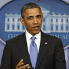 President Obama during his news conference Tuesday at the White House.