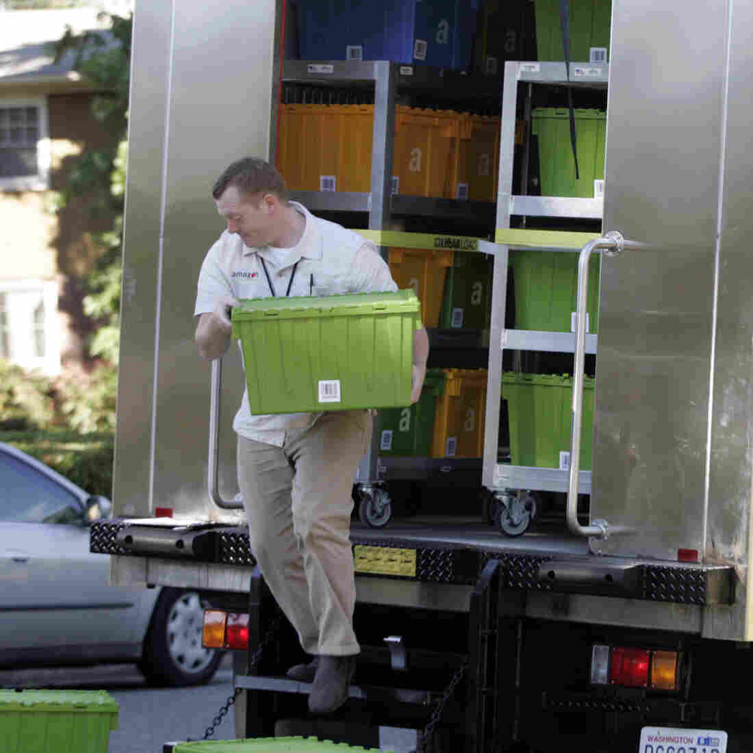 Grocery Home Delivery May Be Greener Than Schlepping To The Store