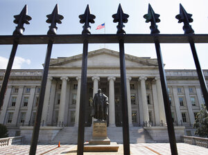 The Treasury Department announced this week it will pay down so