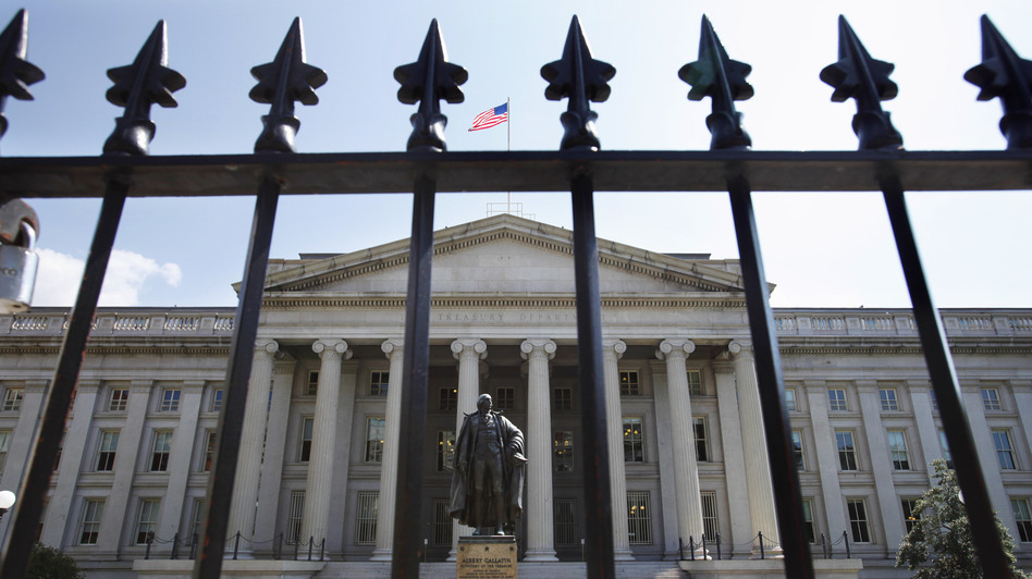 The Treasury Department announced this week it will pay down some of its debt for the first time in six years.
