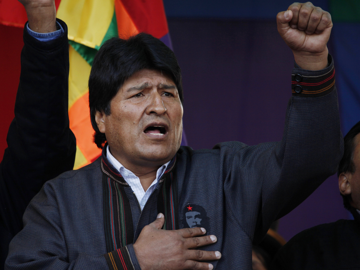 evo morales Evo morales announces on national tv that controversial criminal code will be scrapped.