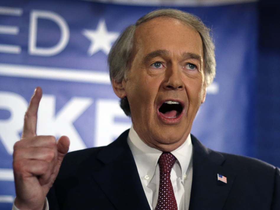 Rep. Ed Markey on Tuesday won the Democratic primary in the race to replace Sen. John Kerry.
