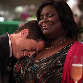 Retta plays office manager Donna Meagle on NBC's Parks and Recreation.