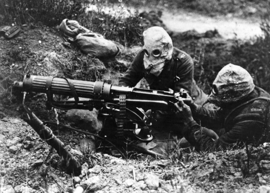 Image result for chemical weapons during WWi