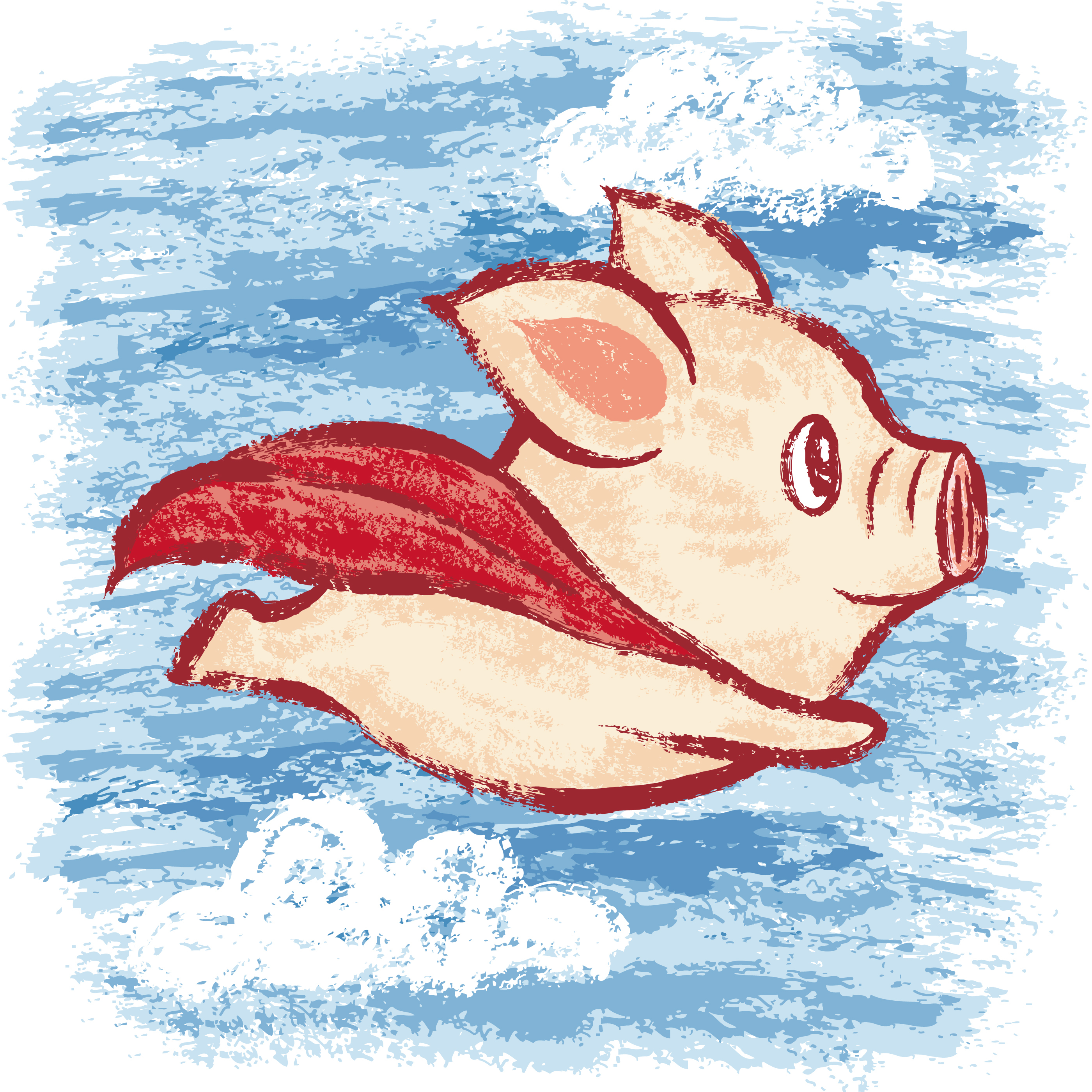 Imagine A Flying Pig: How Words Take Shape In The Brain