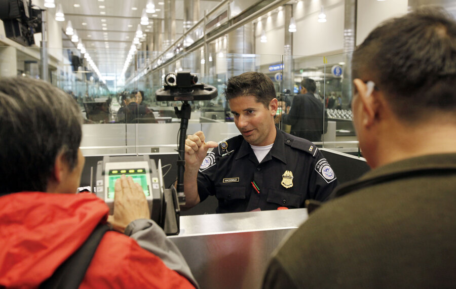 Customs and Border Protection officer at LAX