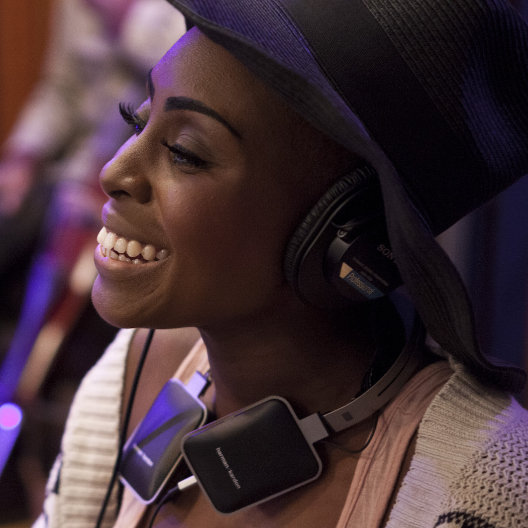 Laura Mvula, live on KCRW's Morning Becomes Eclectic.