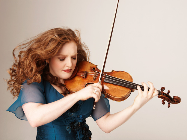 Violinist Rachel Barton Pine says she had her infant daughter in mind when she decided to record an album of lullabies.