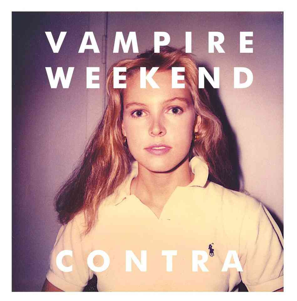 The cover of Vampire Weekend's album Contra.