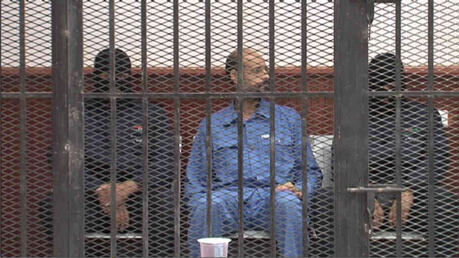 Saif Al-Islam Gadhafi, the second s