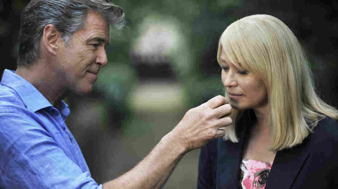 Spoiler alert: These two initially incompatible people (played by Pierce Brosnan and Trine Dyrholm) will eventually fall for each other in Love Is All You Need, a romantic comedy that isn't either, and whose titular premise we regret to report is not always true.