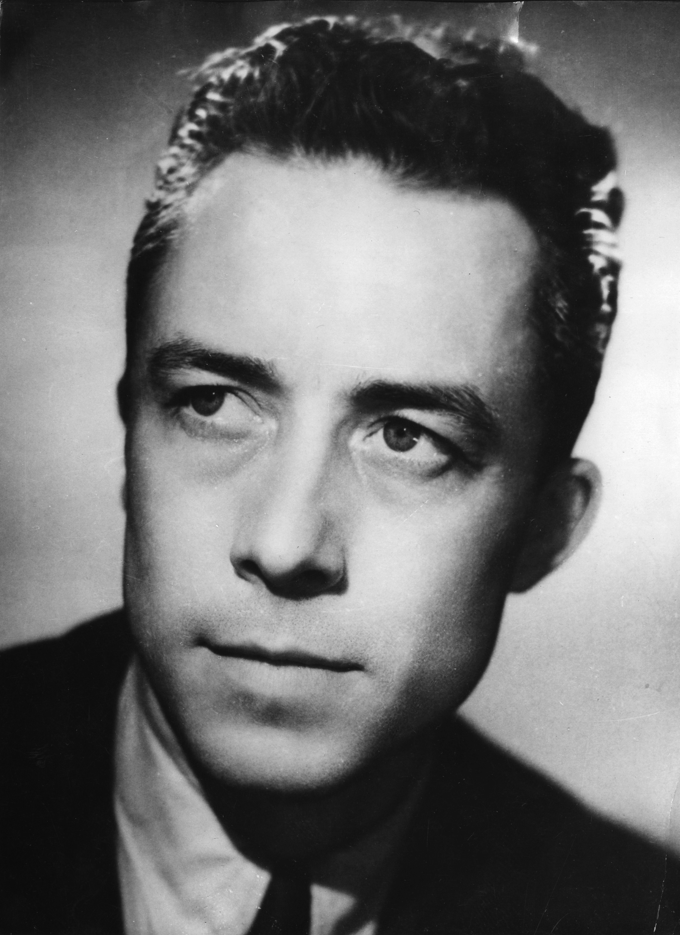 Albert Camus, 1913-1960, won the Nobel Prize for Literature in 1957.