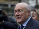 In February, former BBC broadcaster Stuart Hall vowed to fight the allegations against him. On Thursday, he admitted to 14 charges of indecently assaulting girls.