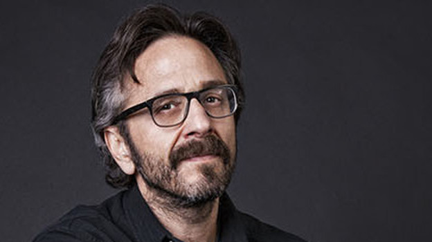 Marc Maron, whose latest book is Attempting Normal, is also the author of The Jerusalem Syndrome: My Life As a Reluctant Messiah. (Spiegel & Grau)