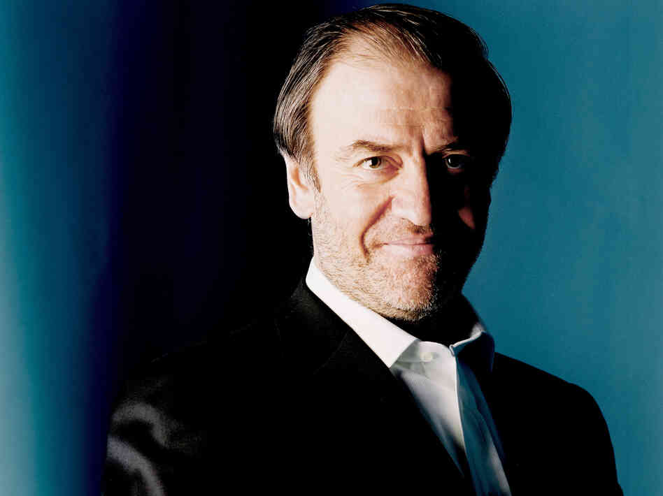 Conductor Valery Gergiev, who turns 60 today.