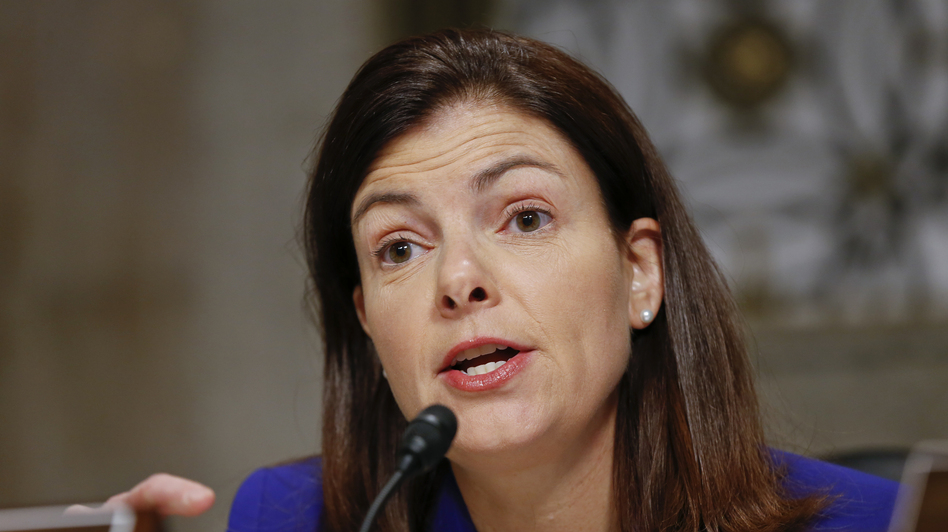Sen. Kelly Ayotte, R-N.H., has drawn the focus of gun control proponents for voting against a bid to expand criminal background checks for gun buyers. (J. Scott Applewhite/AP)