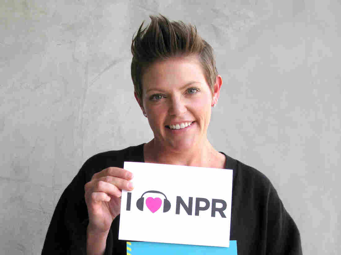 Natalie Maines at NPR West.