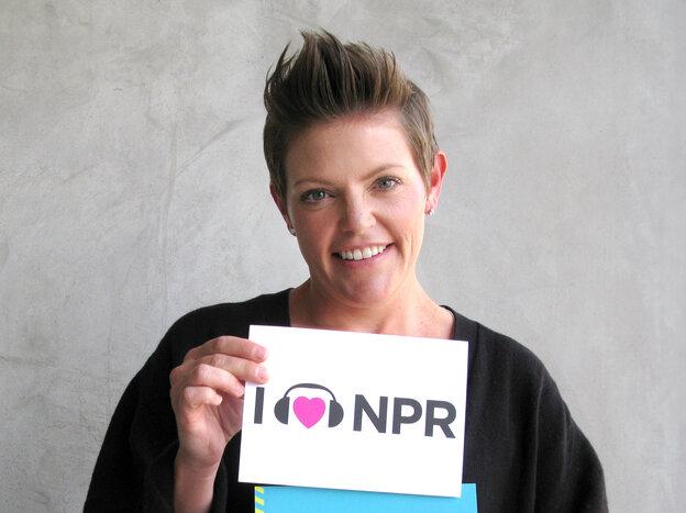 Natalie Maines at NPR West.