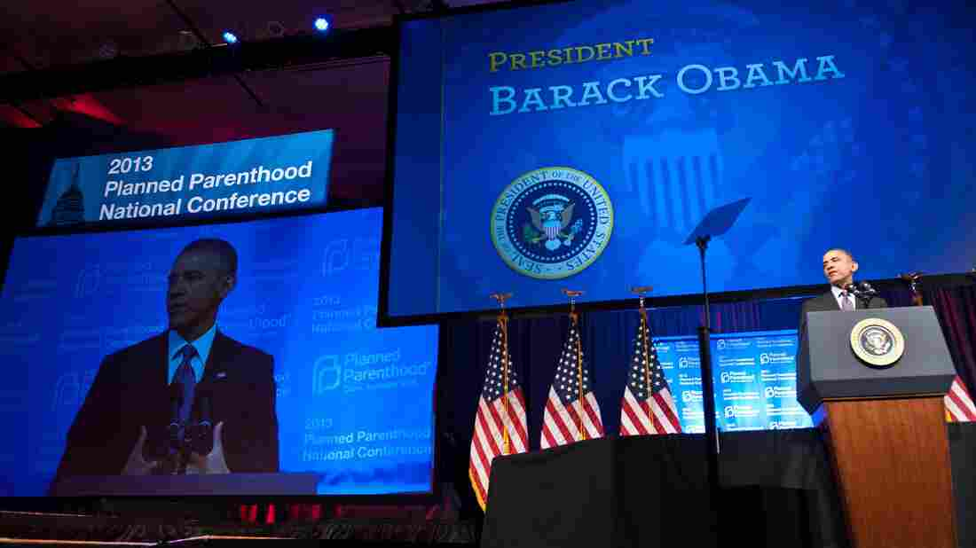 Soon after President Obama spoke at Planned Parenthood's national conference in Washington, D.C., last Friday, the administration alienated some women's health groups.