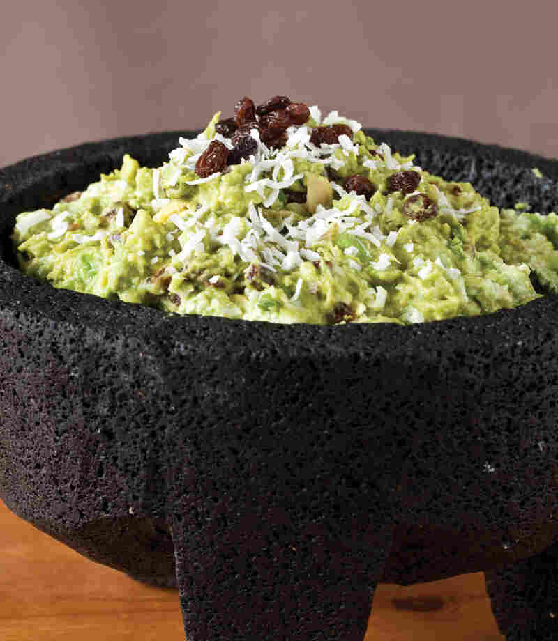 Raisin the Roof Guacamole